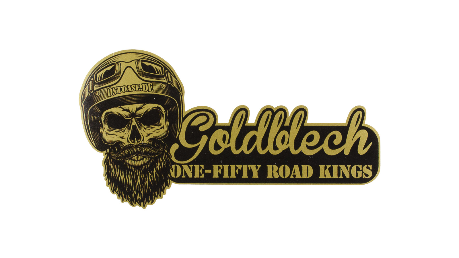 Sticker ONE:FIFTY Goldblech