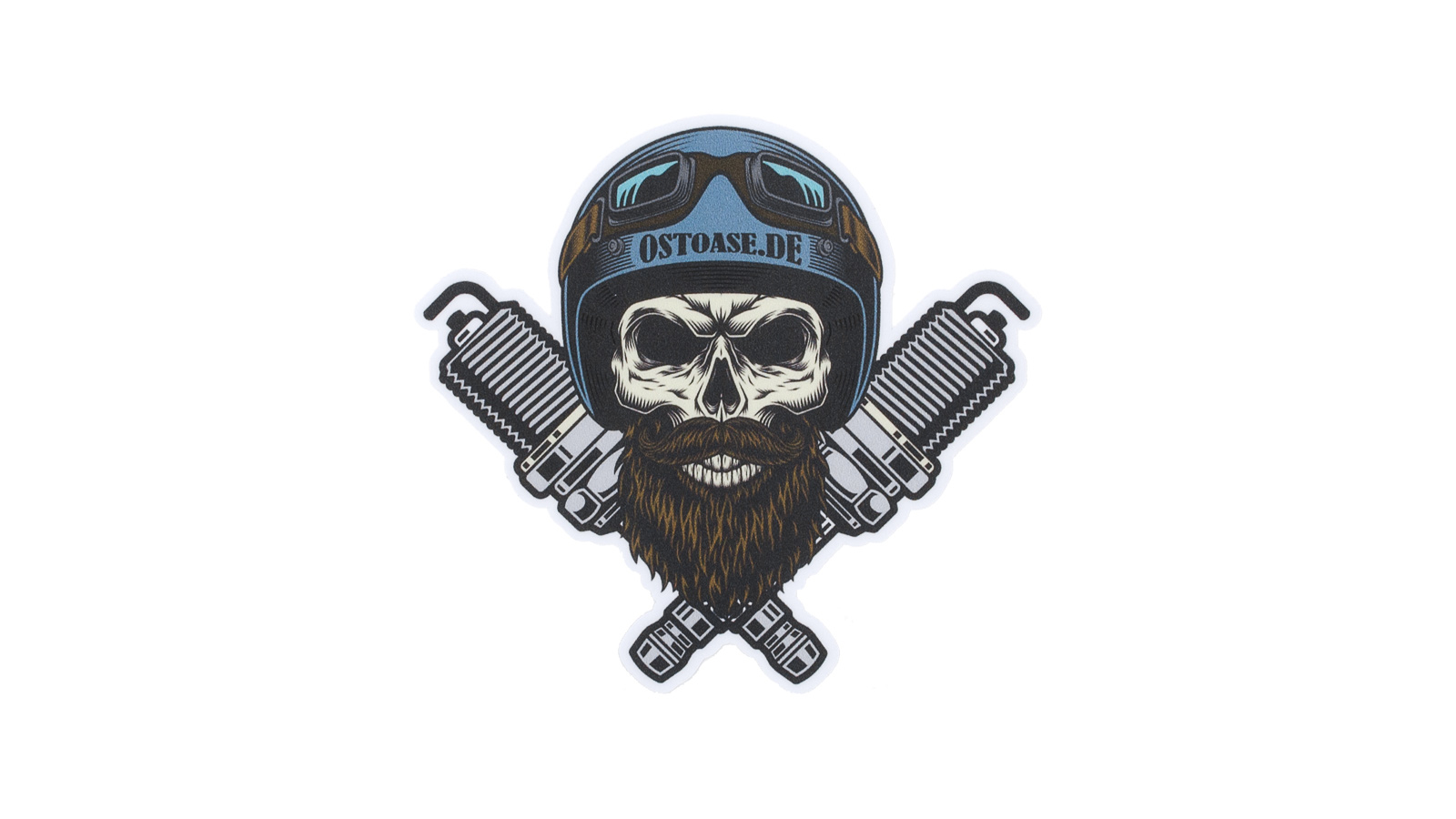 Sticker ONE:FIFTY Skull Color