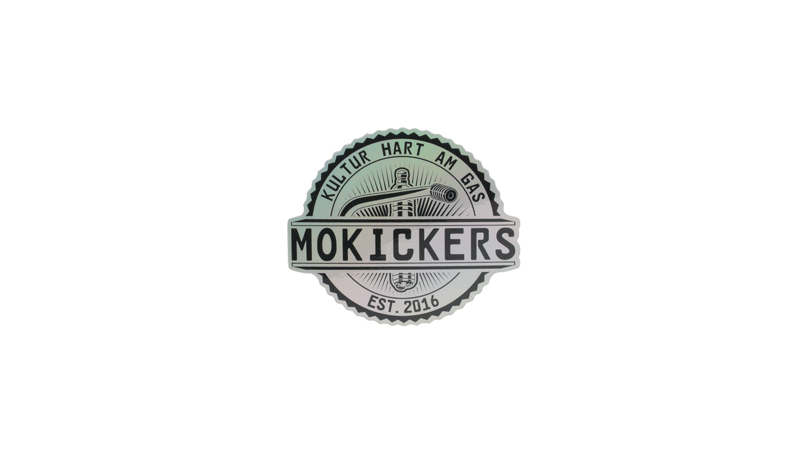 Sticker MOKICKERS holographic